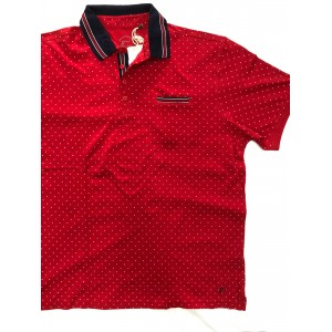POLO A POIS MAXFORT TAGLIE FORTI - ANDREASS  79,00€