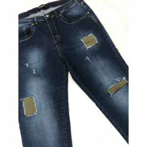 JEANS STRECHT SLIM CON STRAPPI EMANUEL CPA 4867 - ANDREASS Emanuel Jeans 129,00€