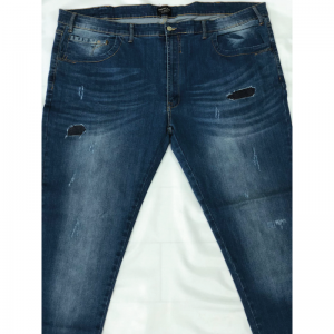 JEANS STRECHT SLIM CON STRAPPI E TOPPE TESSUTO JEANS BLU EMANUEL C5 - ANDREASS Emanuel Jeans 129,00 €
