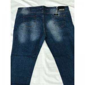 JEANS STRECHT SLIM CON STRAPPI E TOPPE TESSUTO JEANS BLU EMANUEL C5 - ANDREASS Emanuel Jeans 129,00€