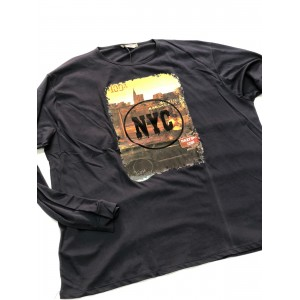 T-SHIRT MANICA LUNGA TAGLIE FORTI - ANDREASS  39,00€